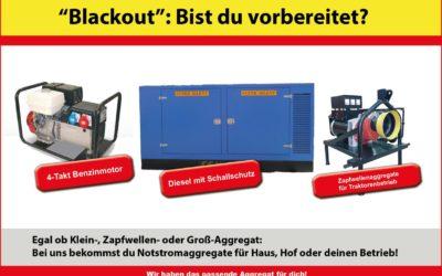 Aggregate für Blackout Vorsorge