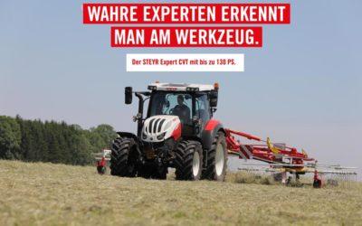 Stufenloser Traktor Steyr EXPERT CVT