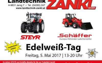 Edelweißtag 2017: Steyr & Schäffer testen