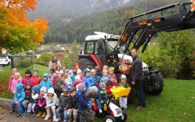 Kindergarten und Bauernhof