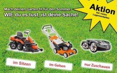Bereit für die Gartensaison?