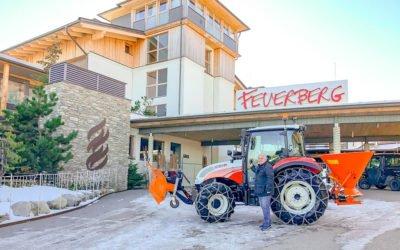 Übergabe – Feuerberg Mountain Resort
