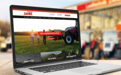 LANDTECHNIK ZANKL mit neuer Website