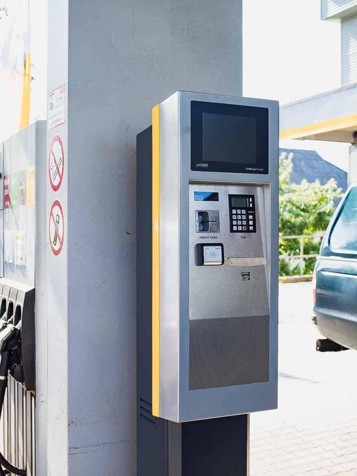 Tankautomat Eni Zankl Jenig
