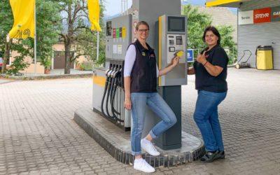 Eni Tankstelle Nassfeld Jenig Tankautomat