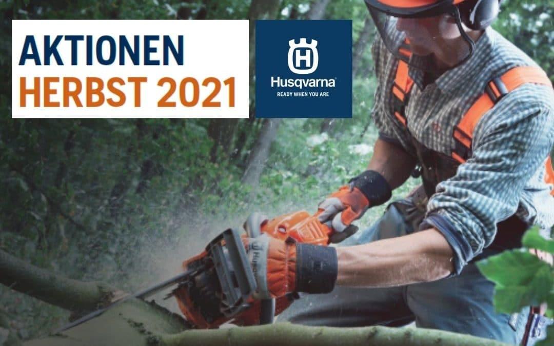 Aktionen Husqvarna Herbst 2021